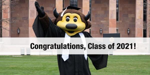 Congratulation, Class of 2021!