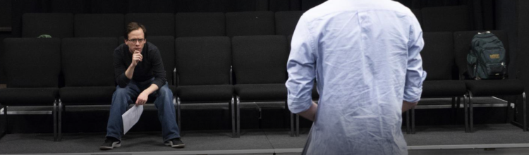 Guderian directing an actor