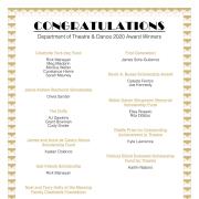 Awards List 2020