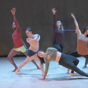 MFA students Dancing