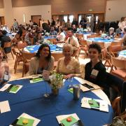 Guests at Donor Lunch