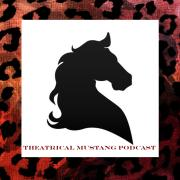Theatrical Mustang logo showing the silhouette of a horse head