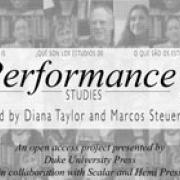 """Book cover for """"What is Performance Studies?"""""""