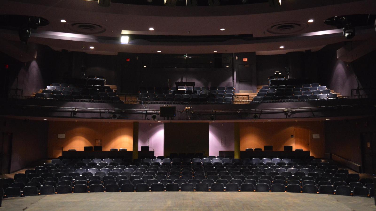 University Theatre stage