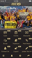 Image of the Herd App menu page