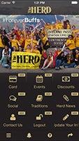 Image of the Herd App menu page