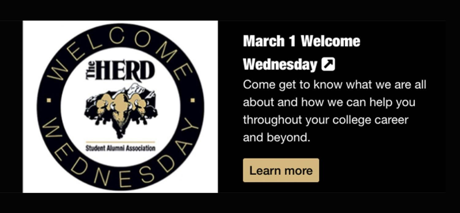 March Welcome Wednesday