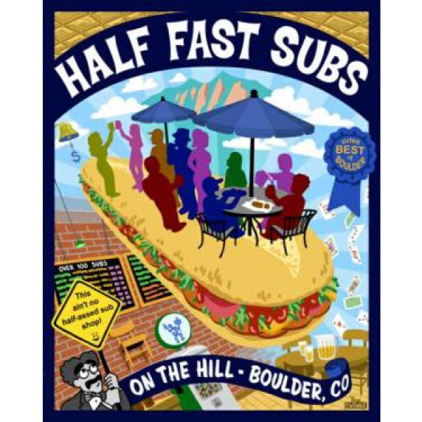Half Fast Subs logo