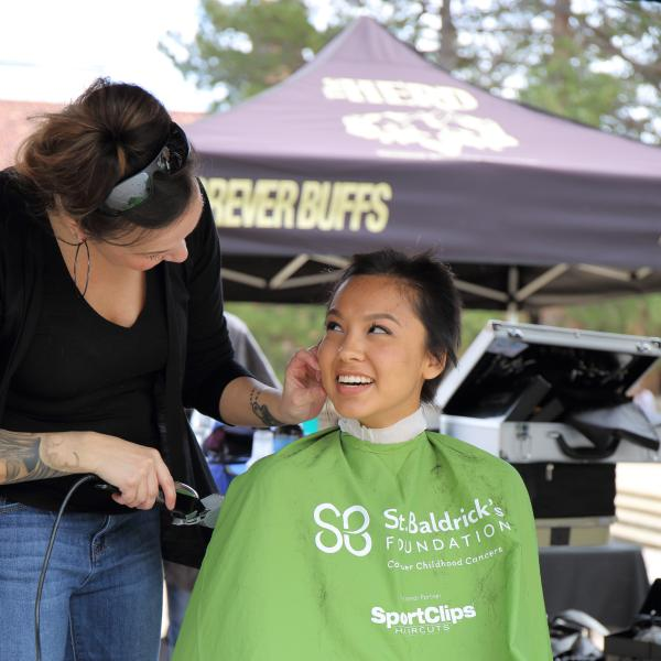 cu boulder herd event: St. Baldricks