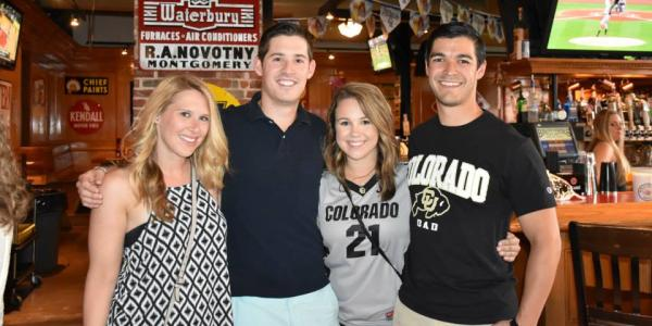 cu young alumni at a bar