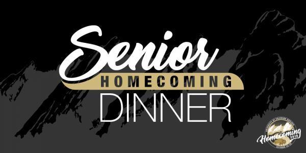 Senior Homecoming Dinner