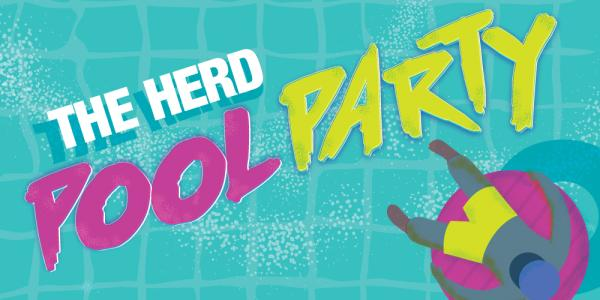 the herd pool party