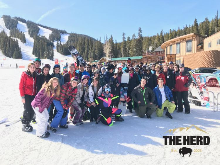 herd day at the mountain