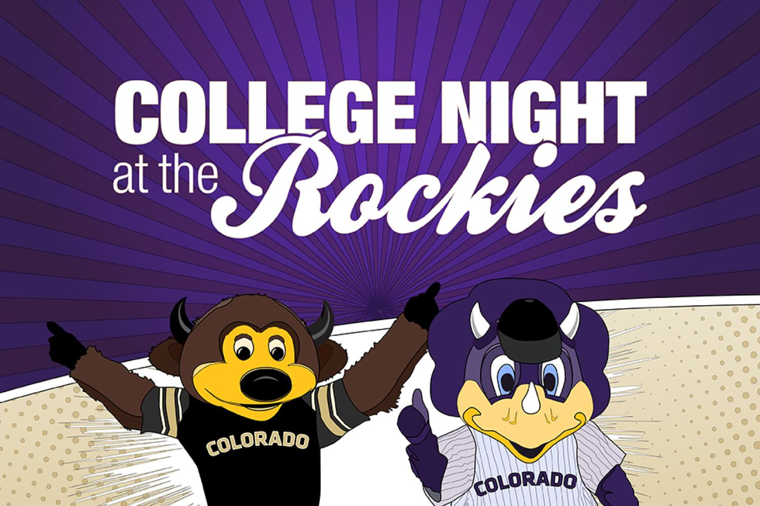 college night at the rockies