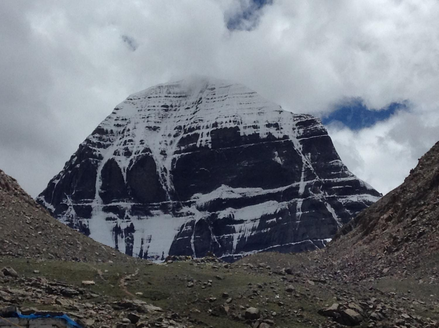 view of Kailash from north 1