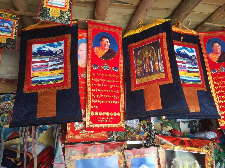 Khenpo Jigphun thangka in Purang