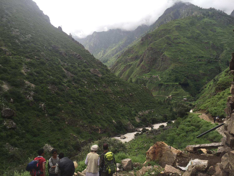 Khas shaman heading to Manasarovar