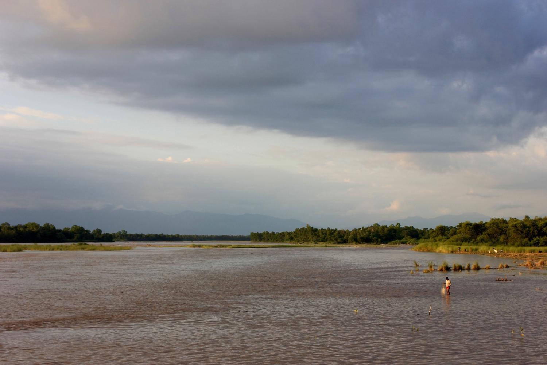 Fishing the Karnali River
