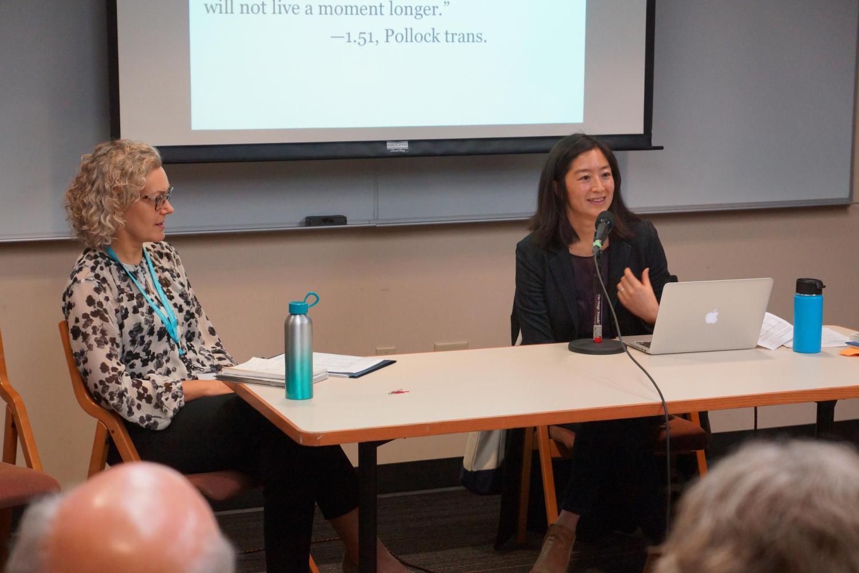 Nancy Lin and Annabella Pitkin