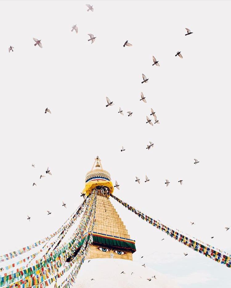 Bodhnath Stupa, photo by Emory Hall