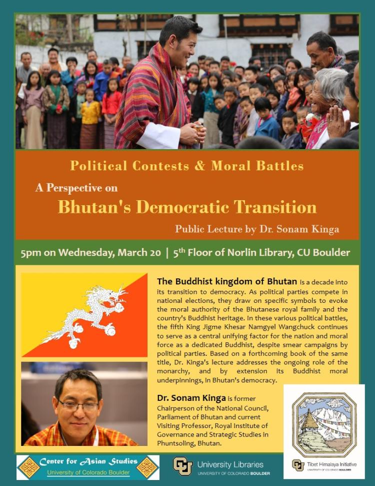 Bhtuan's Transition to Democracy - Flyer