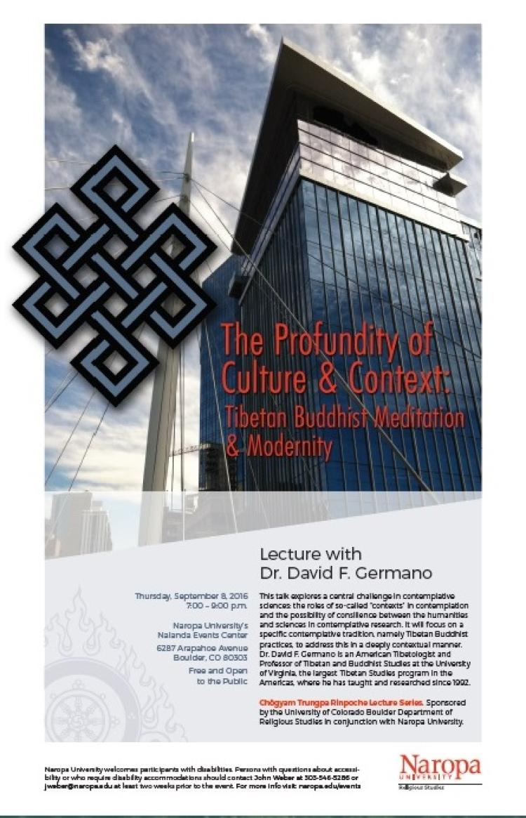 Trungpa Lecture 2016