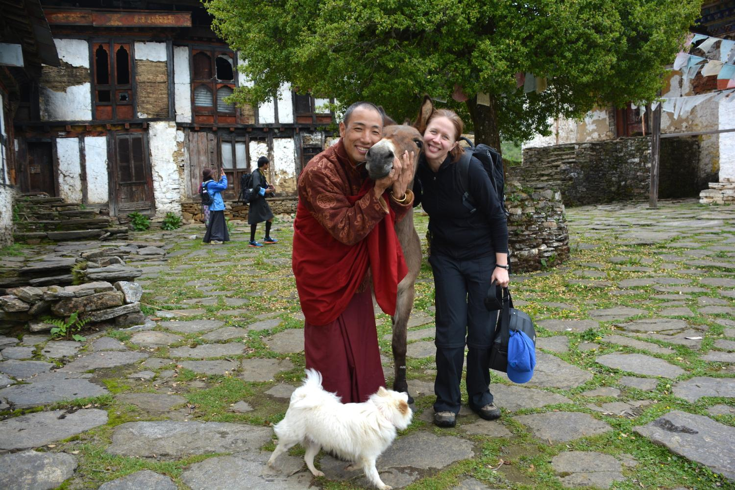 Lama Namgay Tenzin and his menagerie