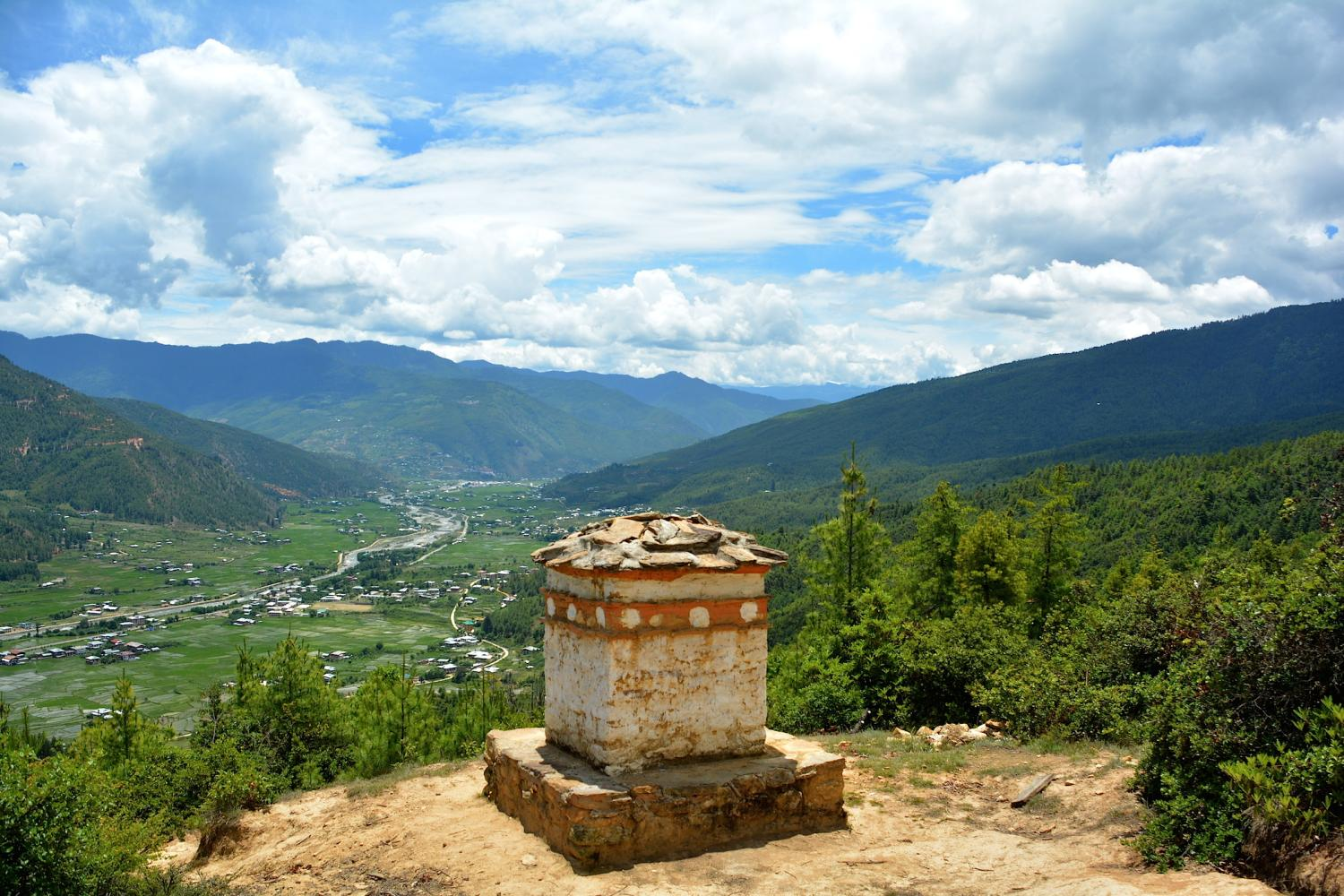 A view of Paro Valley