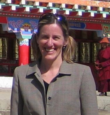 Holly Gayley at Larung Buddhist Academy