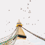 Bodhnath Stupa, photo by Emory Hall