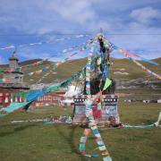 Golok prayer flags