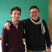 Eben Yonnetti (L) and Mason Brown (R)