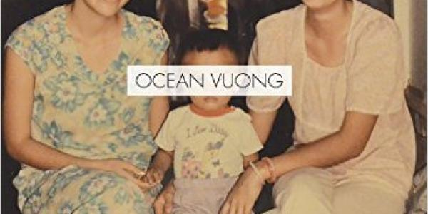 Photo of Ocean Vuong's book