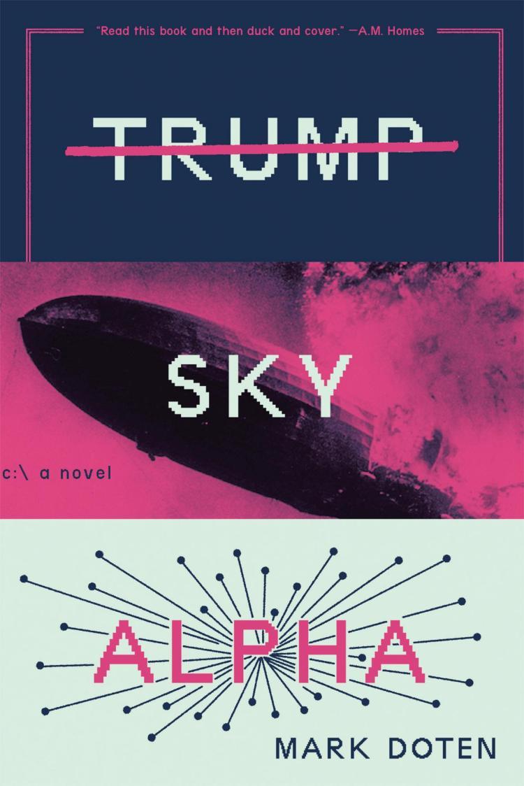 Trump Sky Alpha by Mark Doten