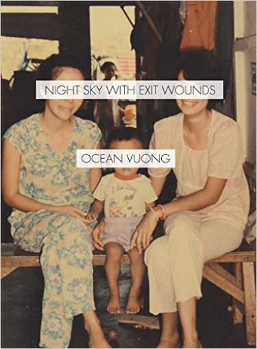 Photo of the cover of Ocean Vuong's book, which is being reviewed.