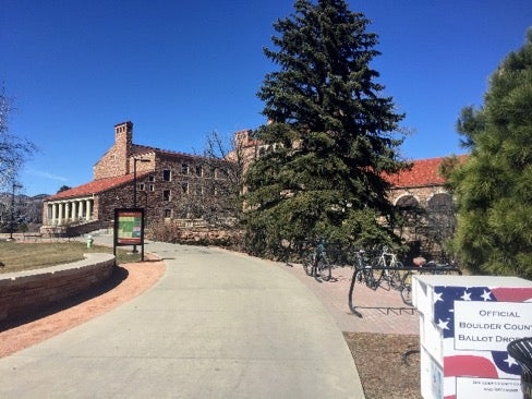 24-hour ballot box on campus