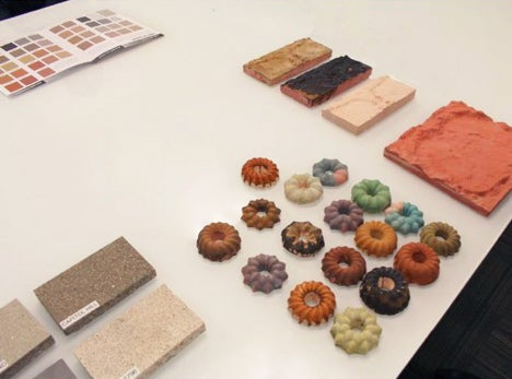 Selecting materials to be used in the installation