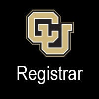 CU Registrar logo