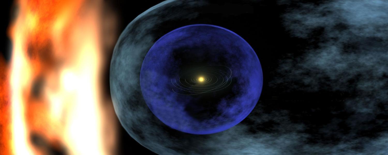 Heliosphere illustration