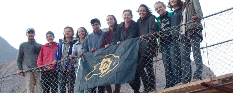 Students part of the bridges for prosperity