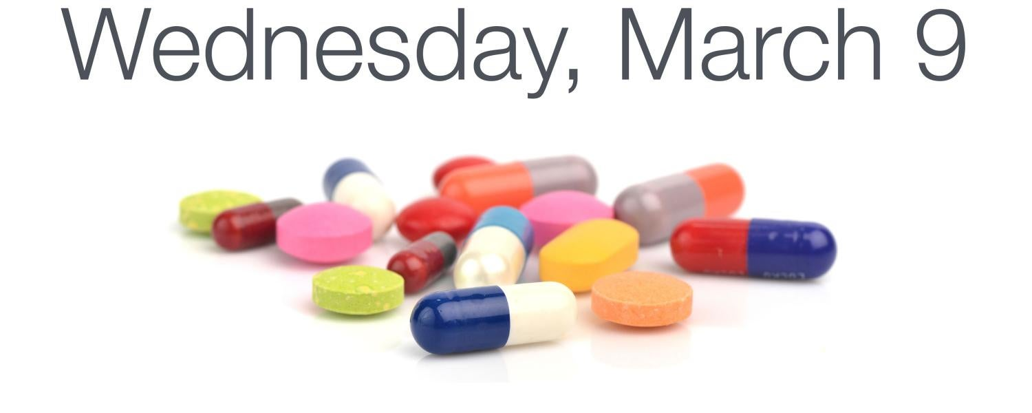 Drug Take-Back Day, Wednesday, March 9