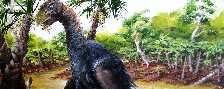Diatryma Illustration of a flightless bird, Gastornis