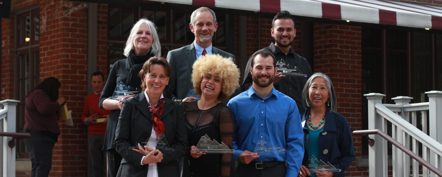 2017 Equity and Excellence Award winners