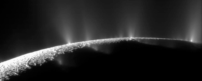 Enceladus, a moon of Saturn