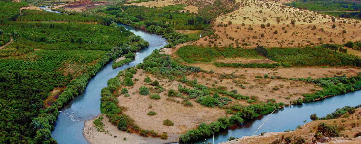 The Greater Zab River in Iraqi Kurdistan