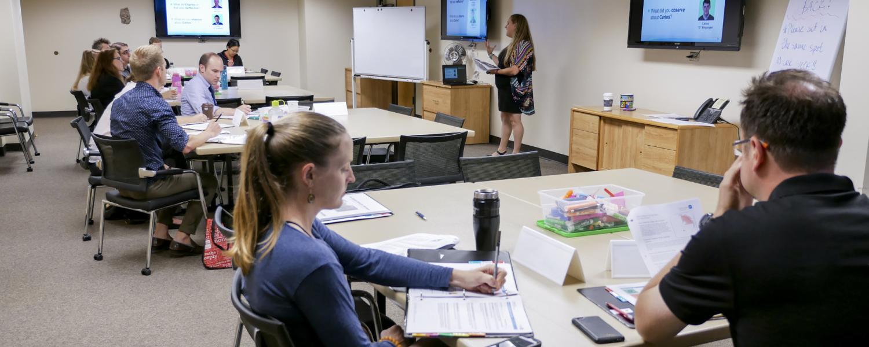 Lauren Harris leads HR supervisor class