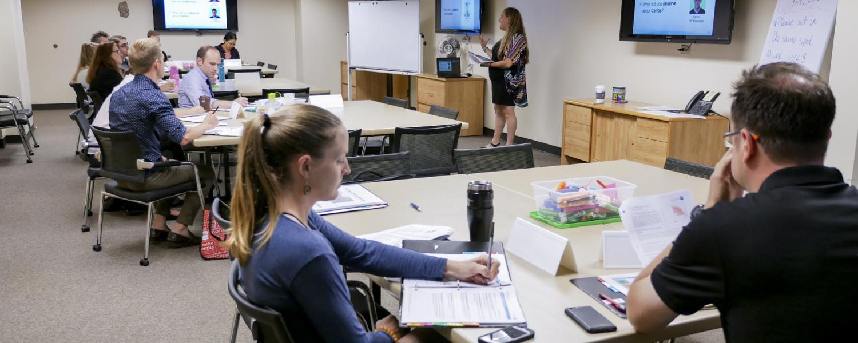 Employee workshop at CU Boulder