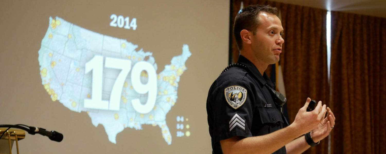 CU Boulder Police Sgt. John Zizz
