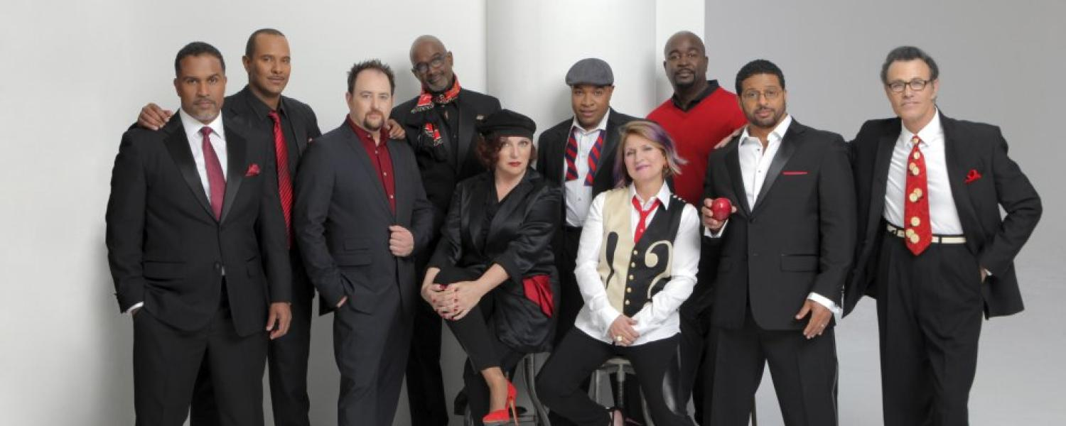 The Manhattan Transfer and Take 6 singing groups join forces for performance at Macky Auditorium