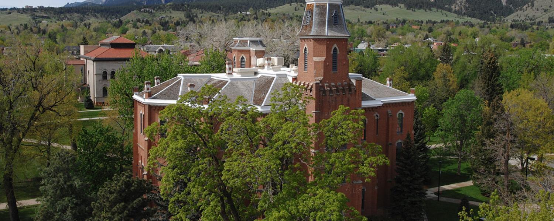 Old Main on CU Boulder campus